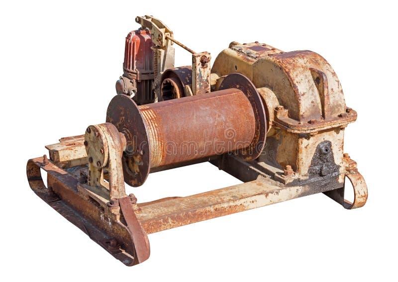 Mecanismo oxidado velho foto de stock