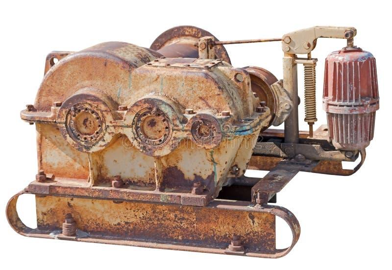 Mecanismo oxidado velho imagem de stock royalty free
