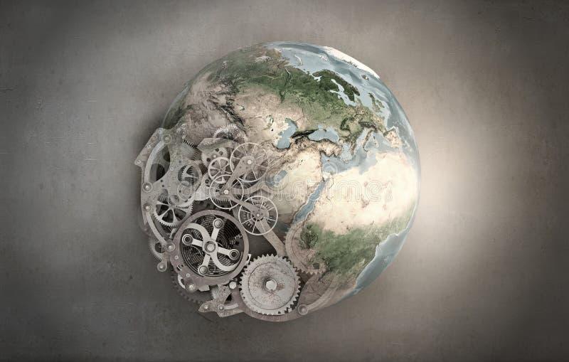 Mecanismos de nuestro planeta foto de archivo libre de regalías