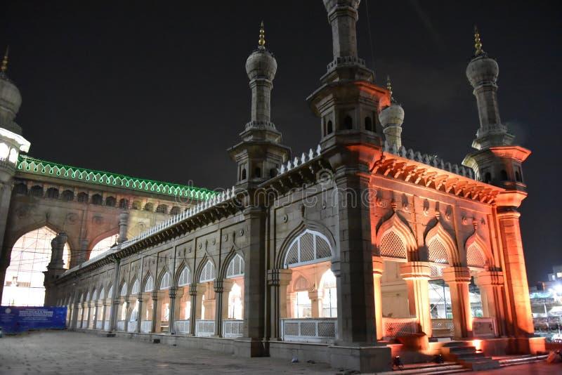 Mecca Masjid, Hyderabad, Telangana, Indien stockfoto