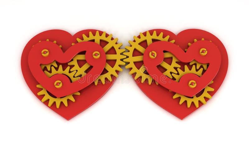 Meccanico di amore royalty illustrazione gratis