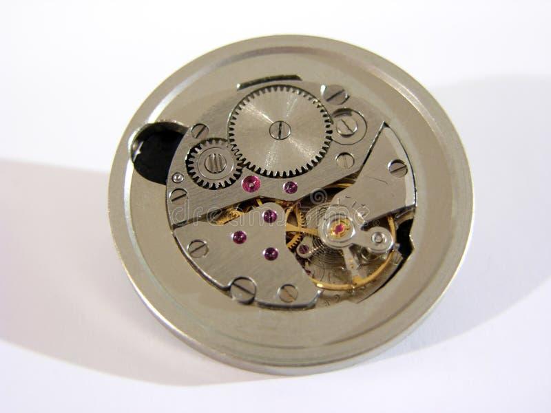 Meccanismo Dell Orologio Fotografia Stock