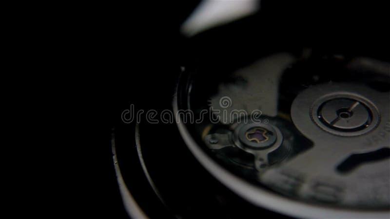 Meccanismo dell'orologio analogico archivi video