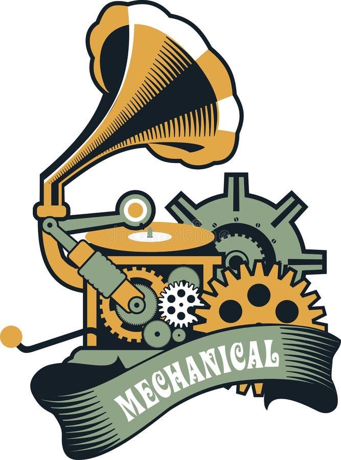 Meccanismo di Steampunk illustrazione vettoriale