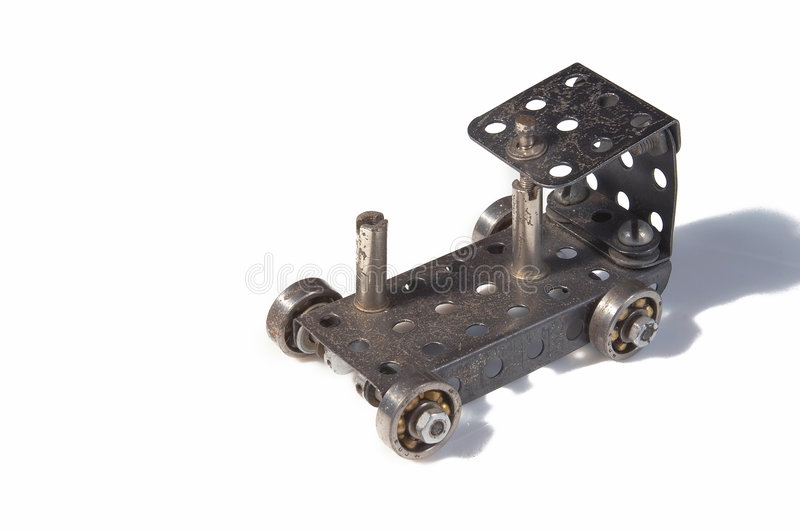 Meccano car #22 stock image