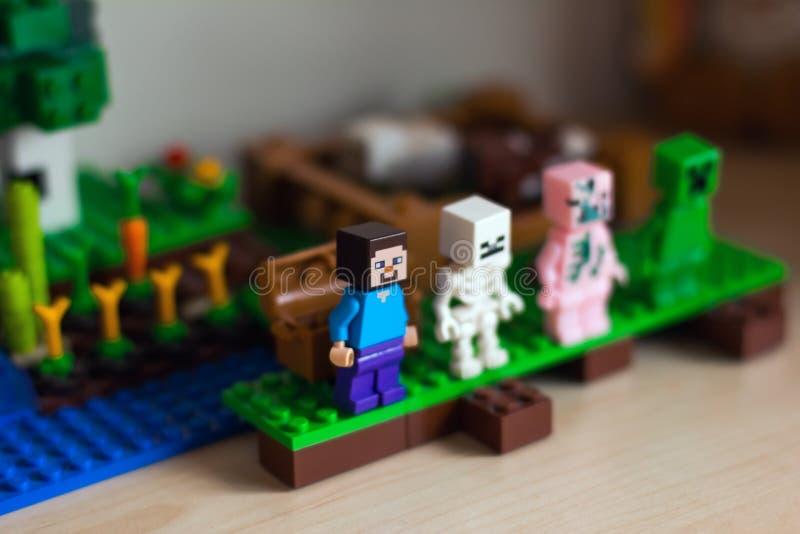 Meccano di LEGO fotografia stock
