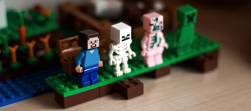 Meccano LEGO στοκ εικόνες