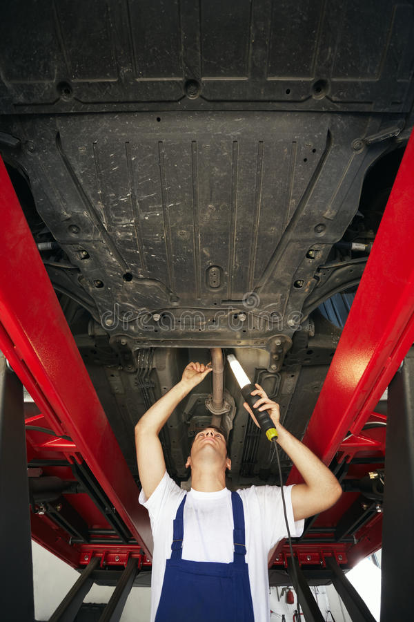 Mechanic stock image