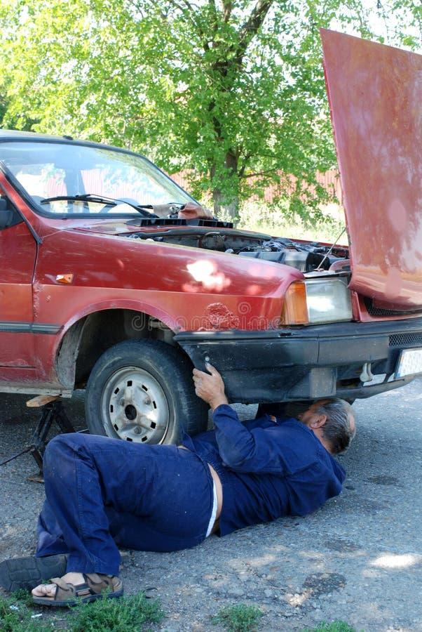 mechanic royaltyfri foto