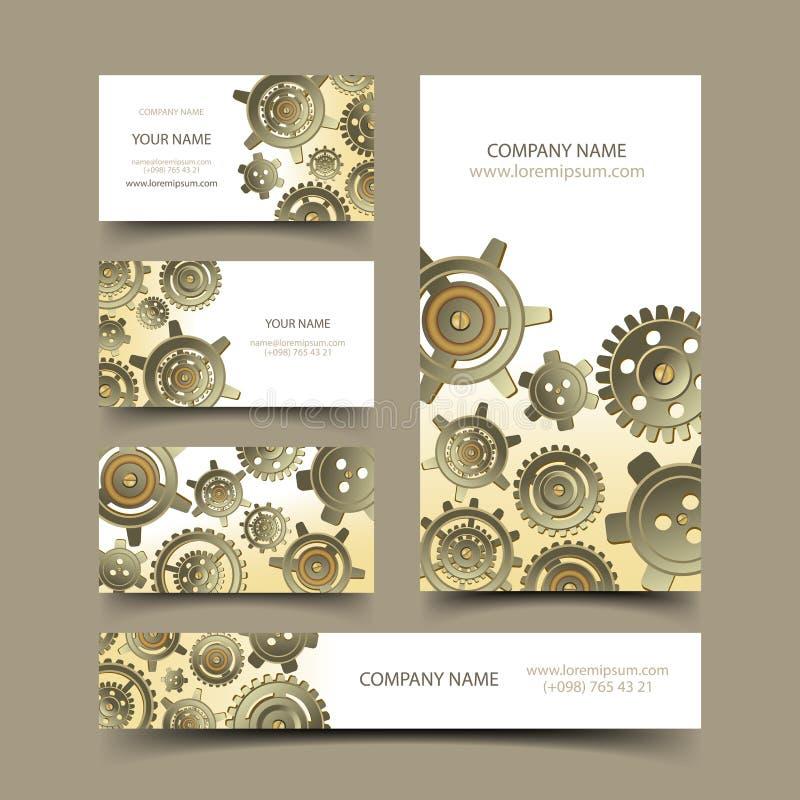 Mechanic business cards set stock vector illustration of cover download mechanic business cards set stock vector illustration of cover company 43753798 colourmoves