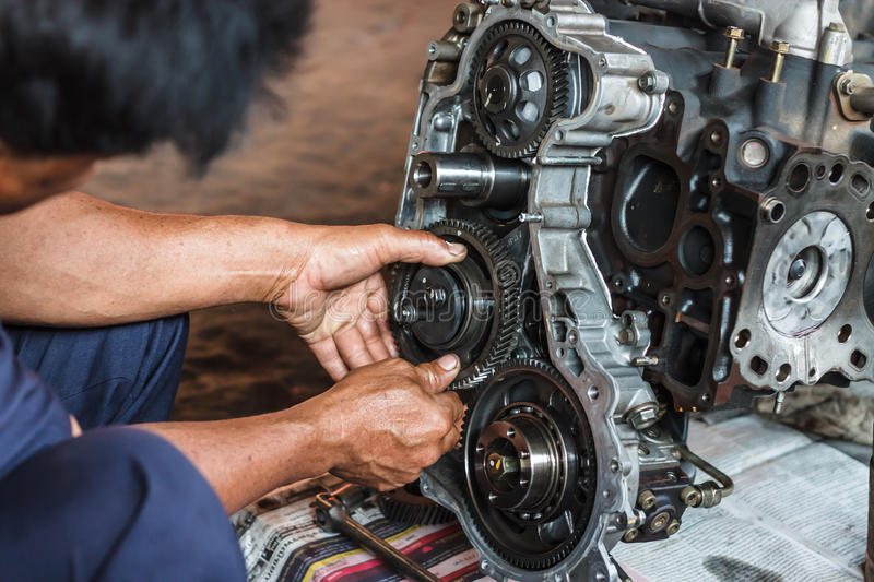 Mechanic royalty free stock images