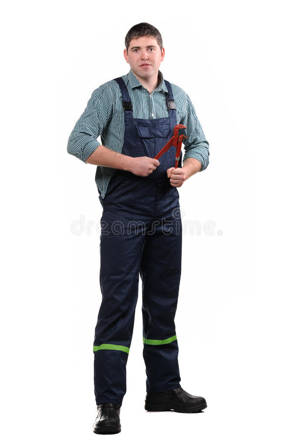 Download Mechanic with tools stock photo. Image of tools, engineer - 23015600