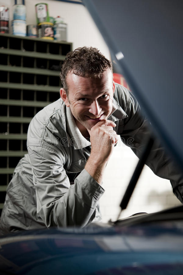 Download Mechanic at work stock photo. Image of image, looking - 17216970