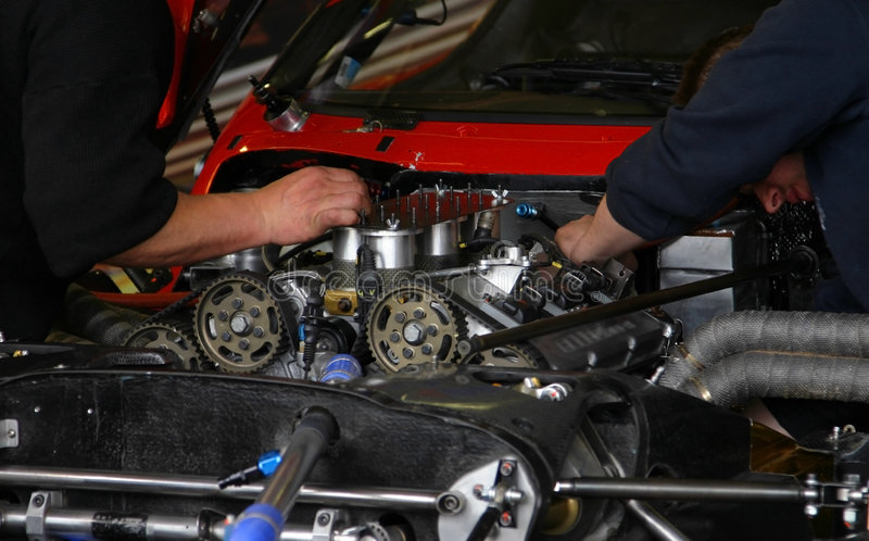 Download Mechanic in work stock photo. Image of technician, sportscars - 845210