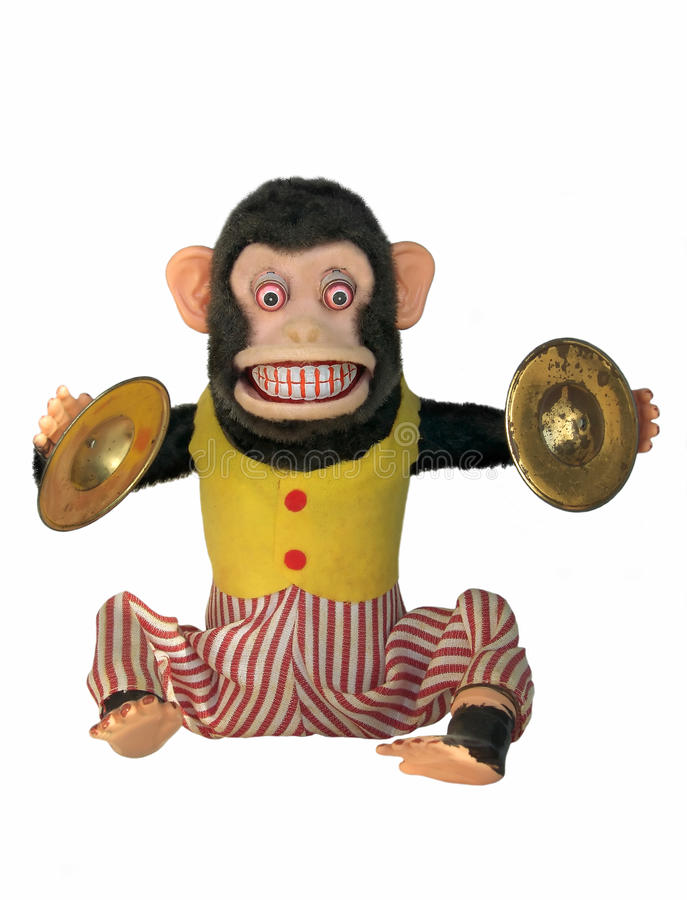 Mechanical Chimp Stock Photography