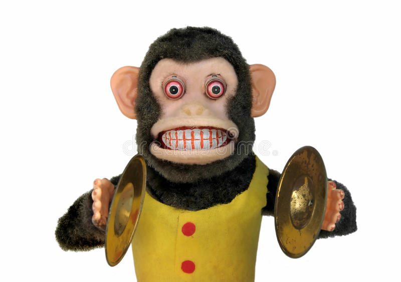 Download Mechanical Chimp stock photo. Image of creepy, humourous - 14604694