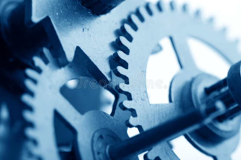 Download Mechanical clock gear stock photo. Image of industry, detail - 7053118