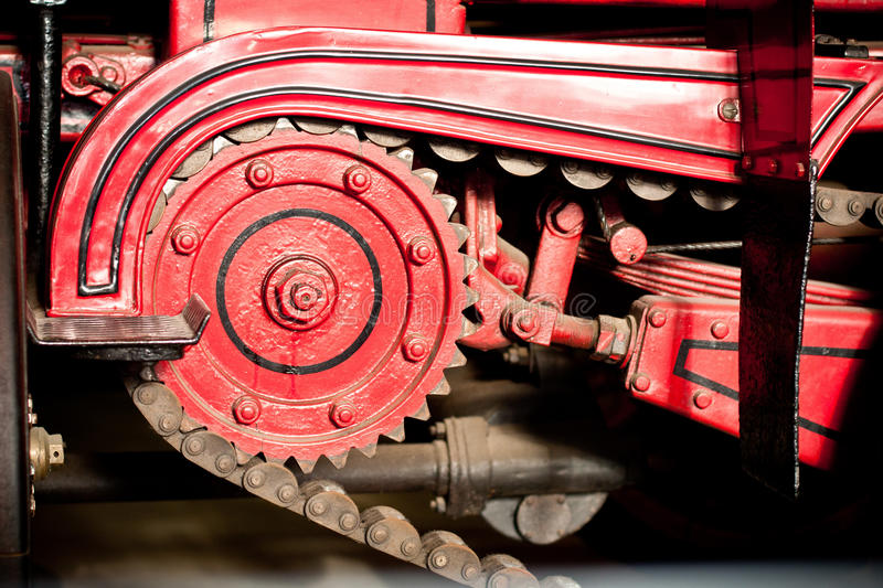 Mechanical Details Royalty Free Stock Photo