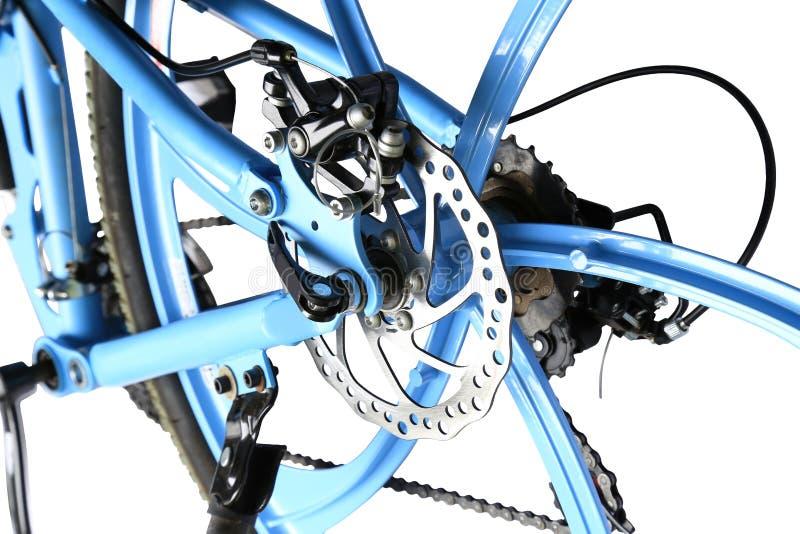 Mechanical disc brake, isolated royalty free stock photos