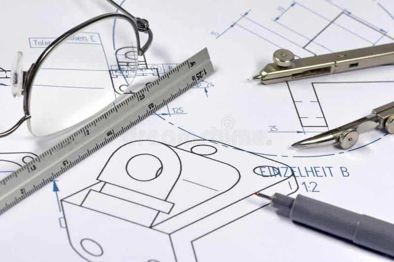 Mechanical engineer 001 stock image