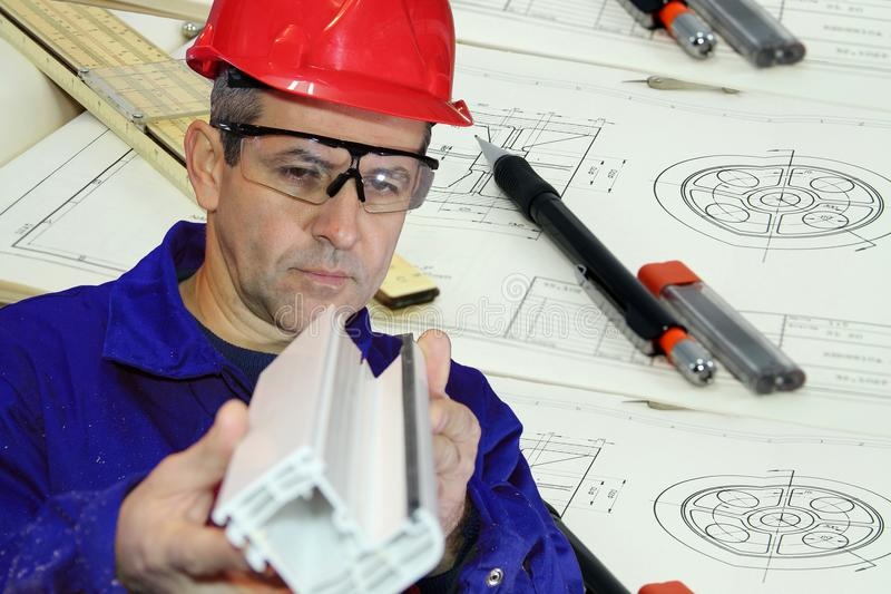 Skilled Mechanical Engineer stock photos