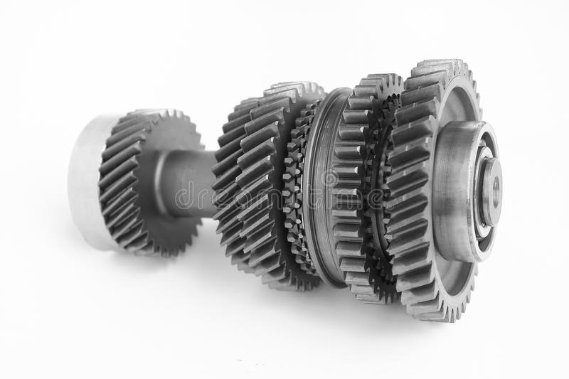 Download Mechanical Gear In BW Stock Images - Image: 19914524