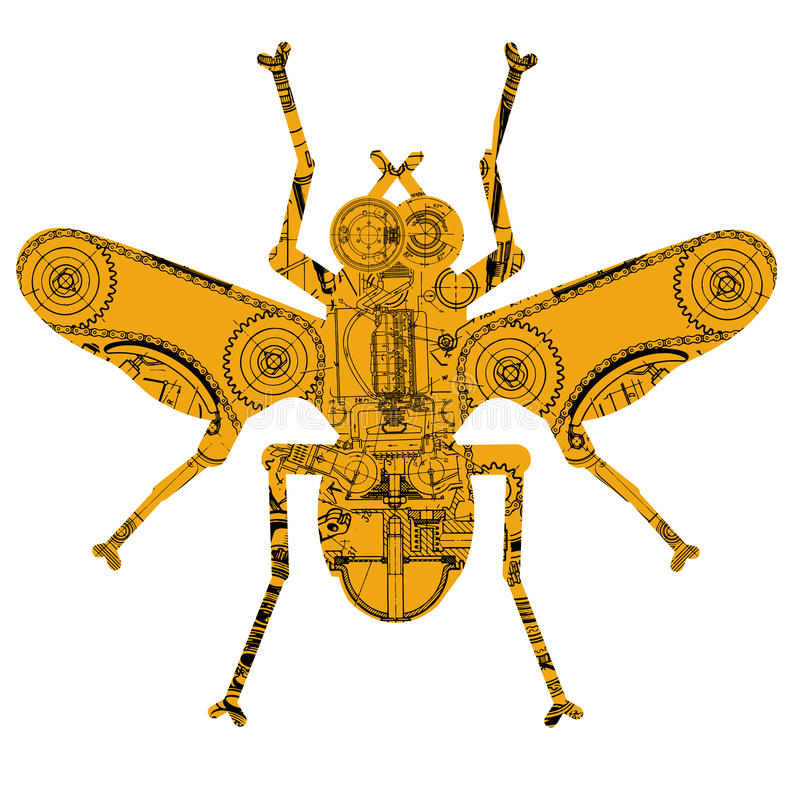 Free Mechanical Insect Stock Photos - 22080123