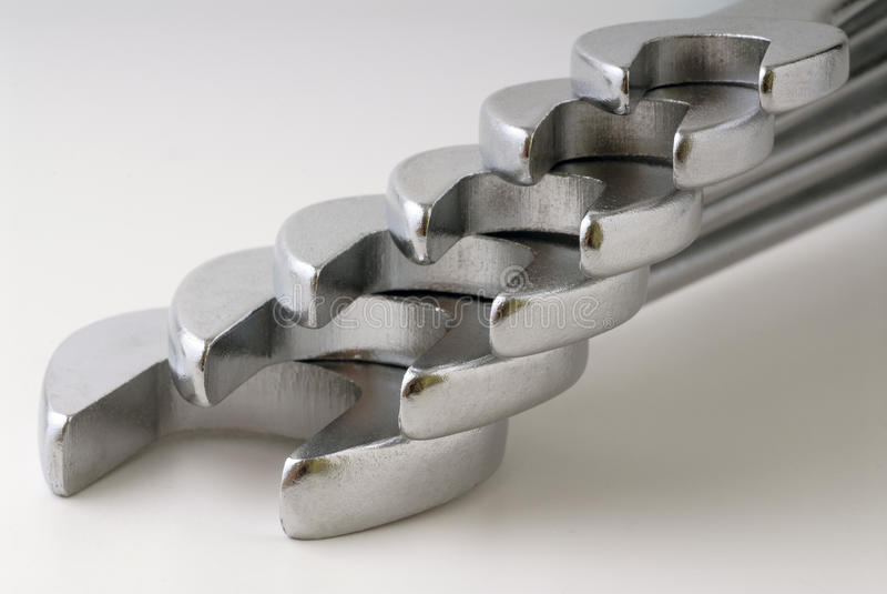 Mechanical Keys Stock Photo