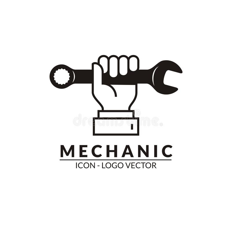 Free Mechanical Logo And Icons Vector Stock Photo - 164237130