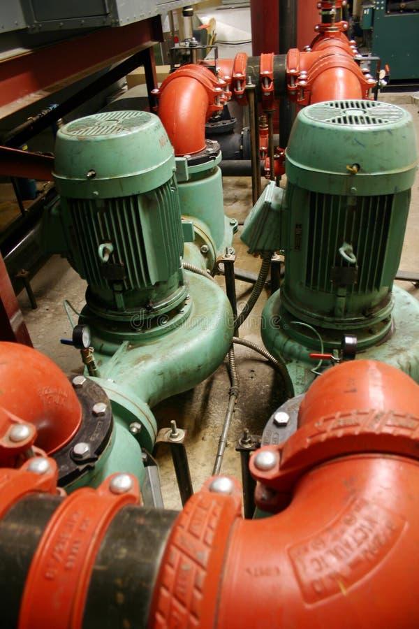 Download Mechanical room stock photo. Image of modern, gauges - 15070842