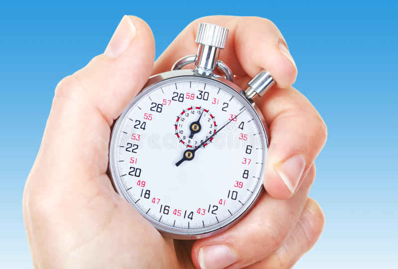 Download Mechanical stopwatch stock photo. Image of background - 12580010