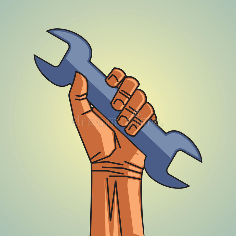 Mechanical tool vector illustration
