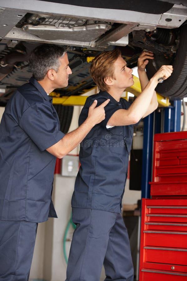 Mechanics At Work Royalty Free Stock Image
