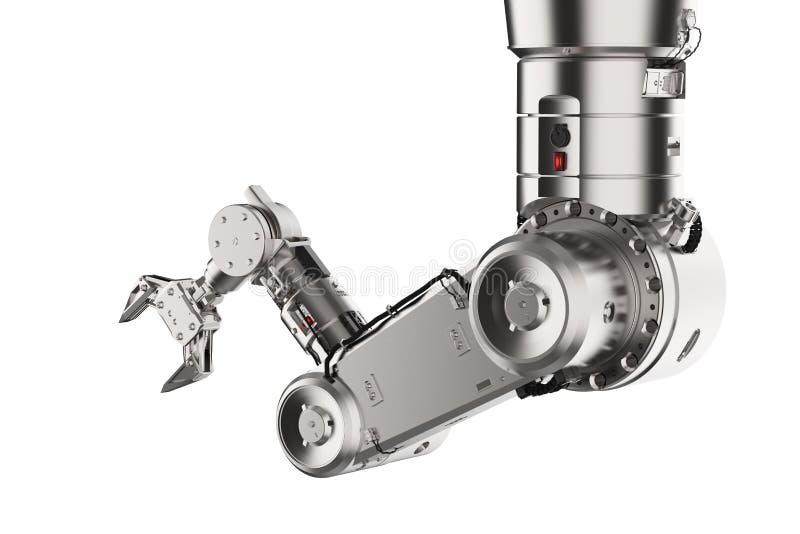 Mechaniczna ręki lub robota ręka royalty ilustracja