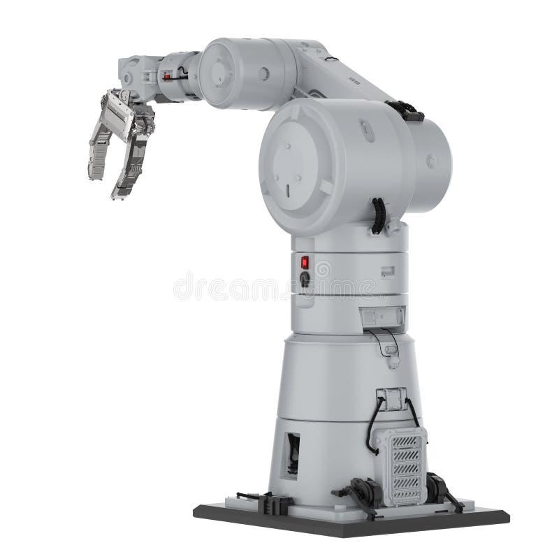 Mechaniczna ręki lub robota ręka ilustracji