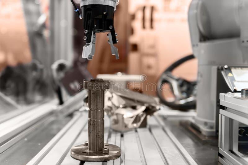 Mechaniczna ręki zbliżenia fotografia obrazy stock