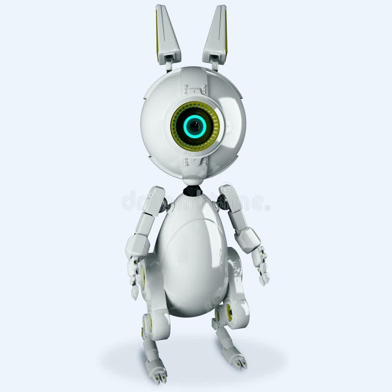 Download Mechaniczny królik ilustracji. Ilustracja złożonej z nowożytny - 65225370