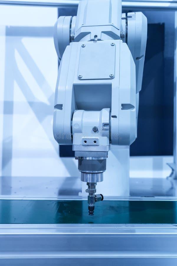 Mechaniczny maszynowy narzędzie w przemysłowej manufaktury roślinie obraz royalty free