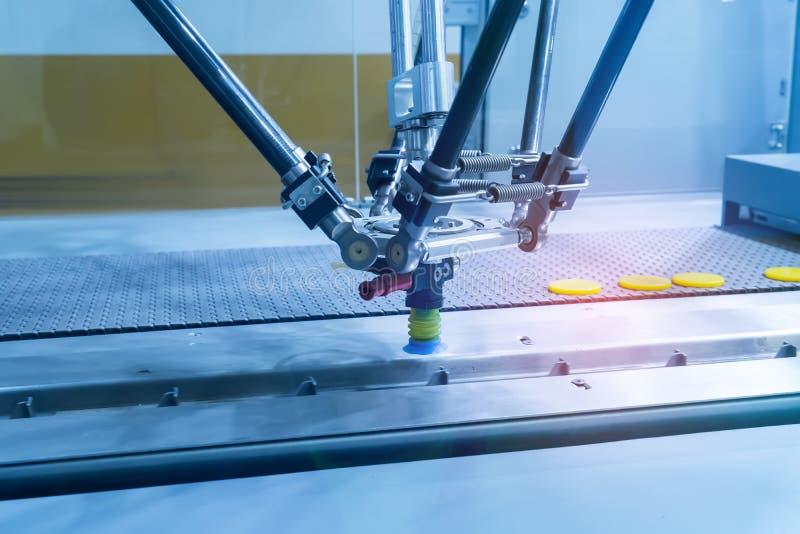 Mechaniczny maszynowy narz?dzie w przemys?owej manufaktury ro?linie, M?drze fabryka obrazy stock