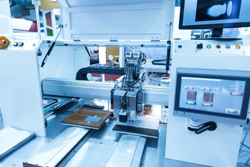 Mechaniczny widzenie maszynowe system obrazy stock