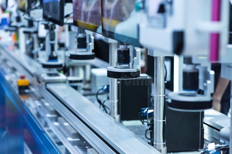 Mechaniczny widzenie maszynowe system fotografia stock