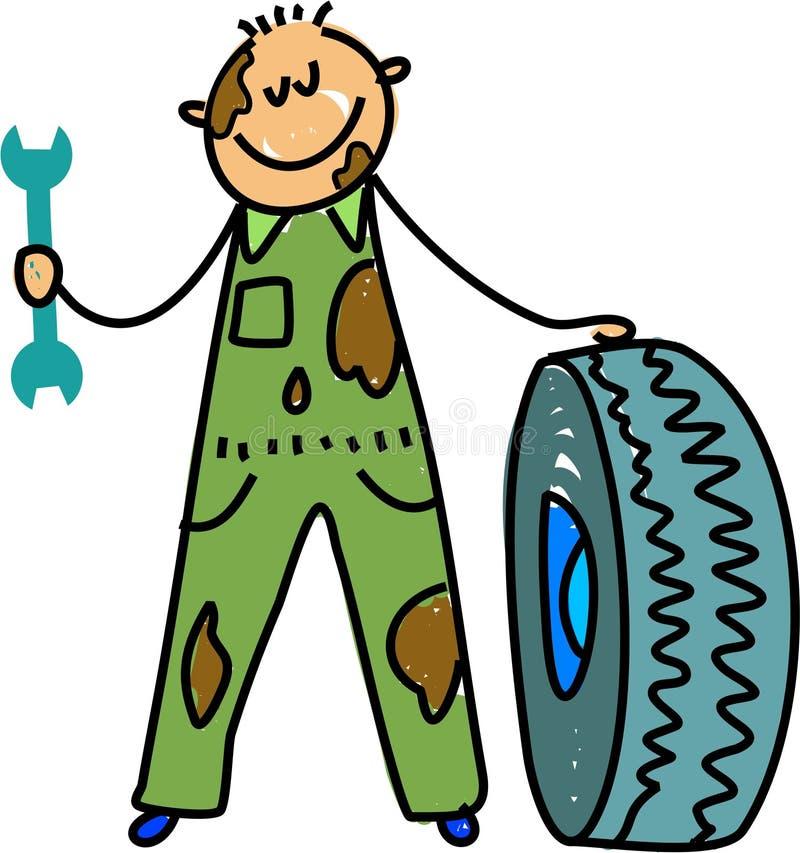 mechanik dzieciaka. ilustracji