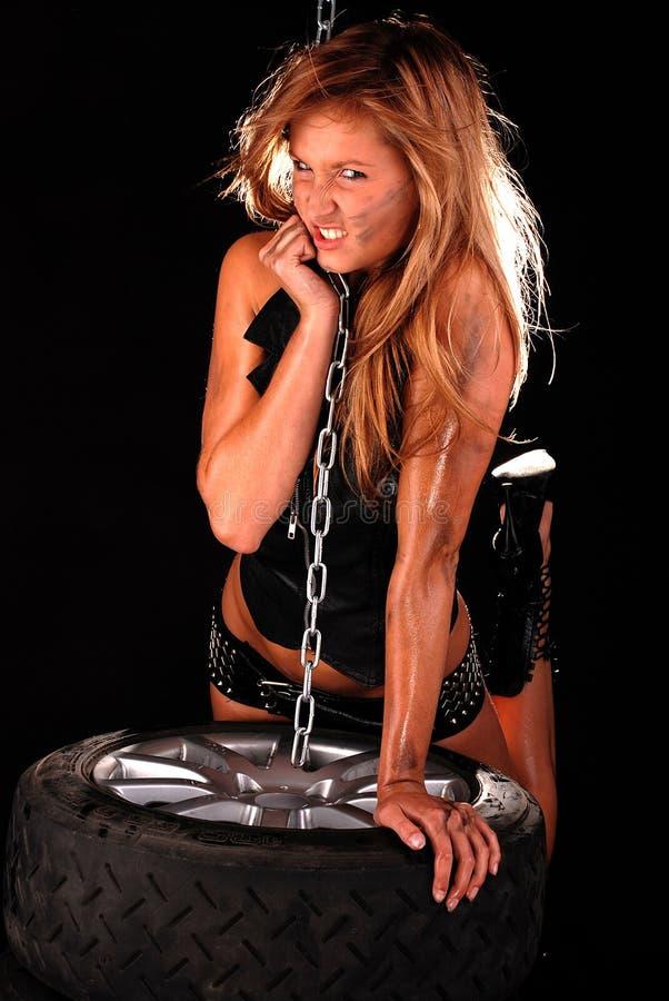 mechanik kobiety fotografia royalty free
