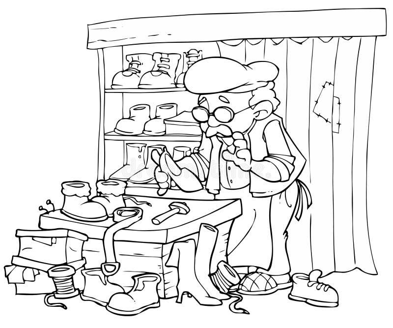 but mechanika ilustracja wektor
