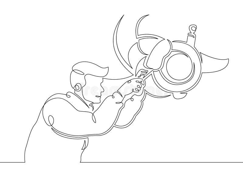 Mechanika garażu samochodowej usługi auto naprawa ilustracja wektor