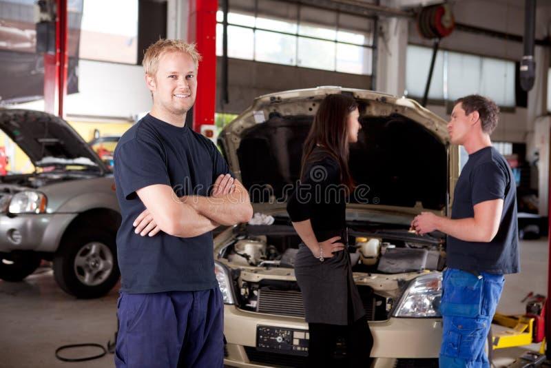 mechanika portret zdjęcie royalty free