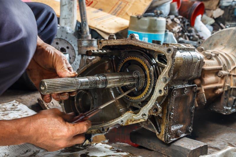 mechaniker stockfoto