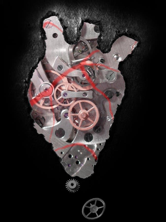 Mechanisch hart stock fotografie