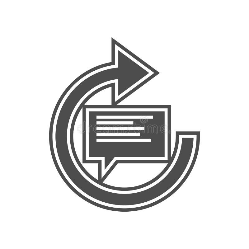 mechanische Balance mit Lastsikone Element von minimalistic f?r bewegliches Konzept und Netz Appsikone Glyph, flache Ikone f?r We stock abbildung