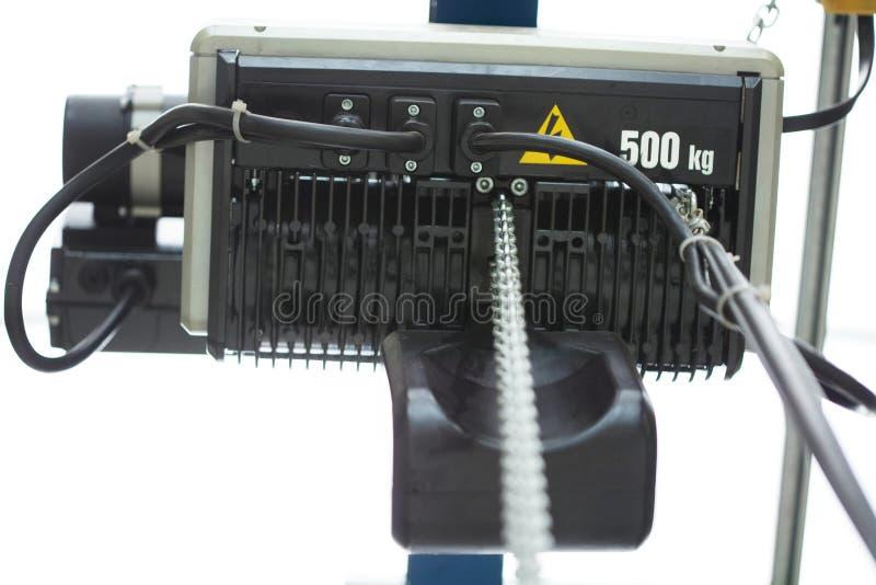 Mechanische motor op witte achtergrond royalty-vrije stock fotografie